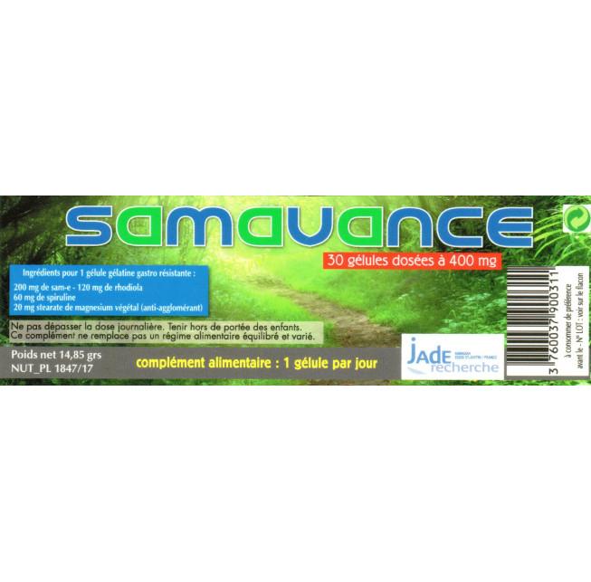 Samavance 30 gélules