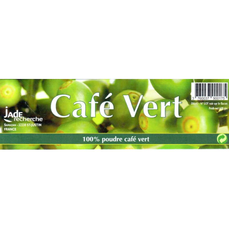 Café vert en poudre 600 gr